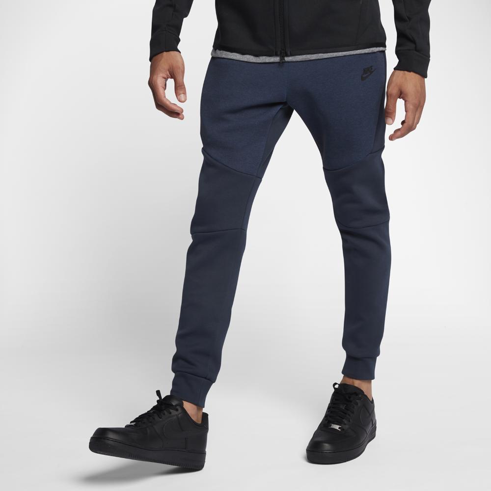best service d2a89 52a09 Nike Sportswear Tech Fleece Men s Joggers Size Medium (Blue)