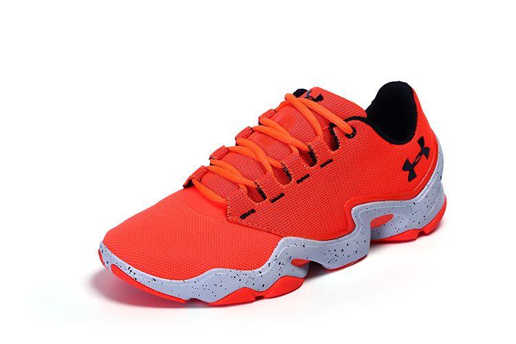 the latest 8347e 1206f Men s Under Armour UA Phenom Proto Training Shoes Orange White Black