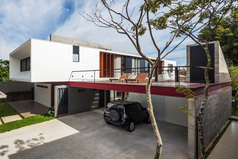 Terrace sample model house