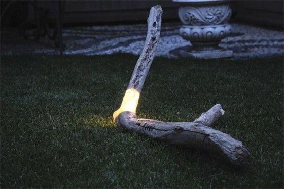 Branch & Stump Lights by Marco Steffanelli