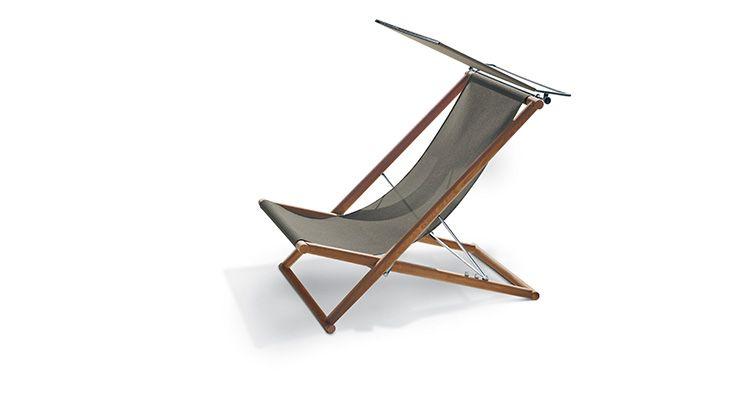 Orson 006 Deck Chair And Orson 007 Capote Roda Bain De Soleil Design