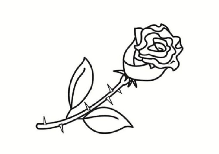 Small Rose Coloring Pages Rose Coloring Pages Precious Moments