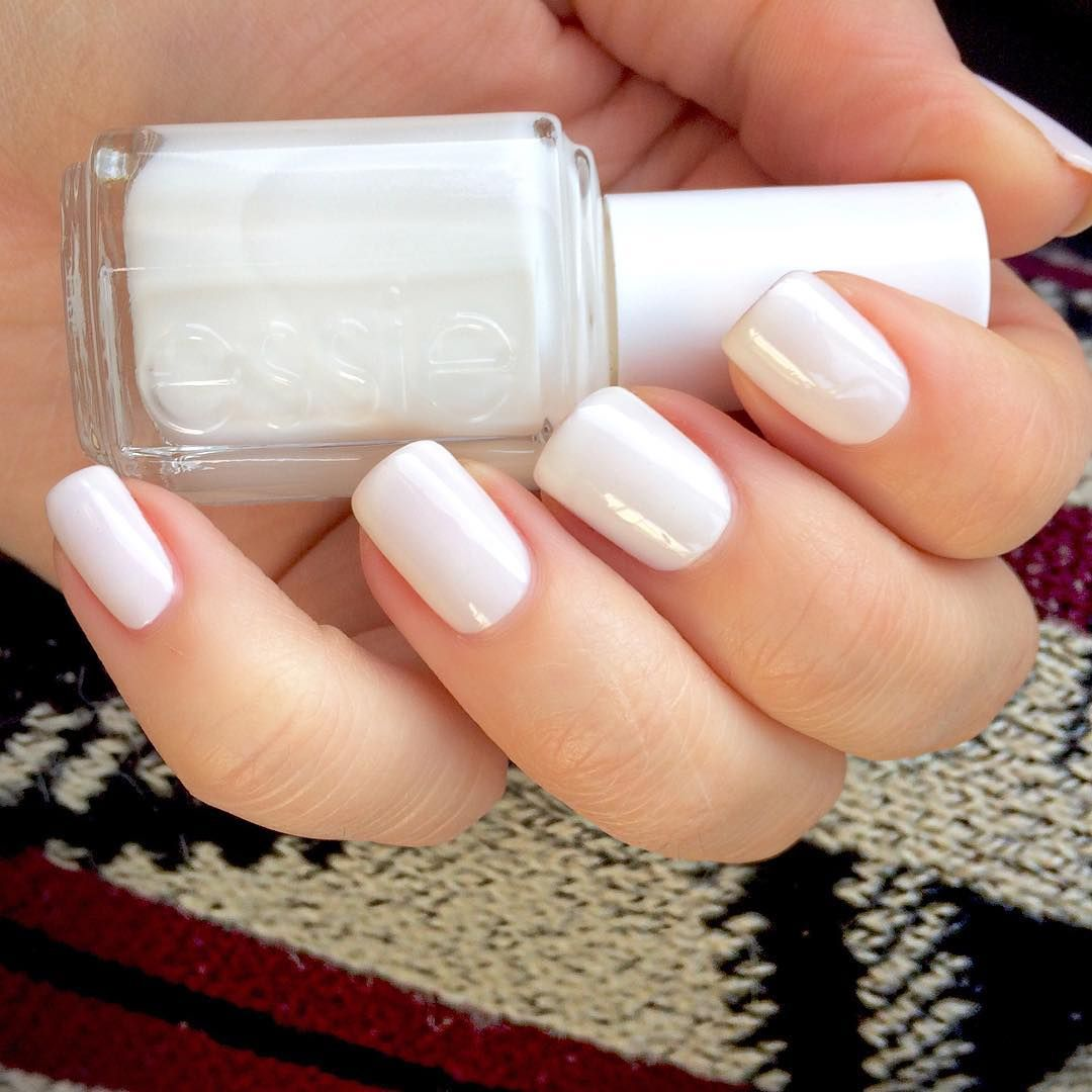 Take your nails ballroom dancing with an elegant sheer white nail ...