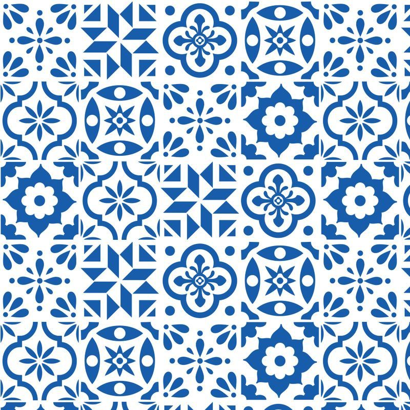 Spanish Tile Pattern Smaller Size With Images Tile Patterns
