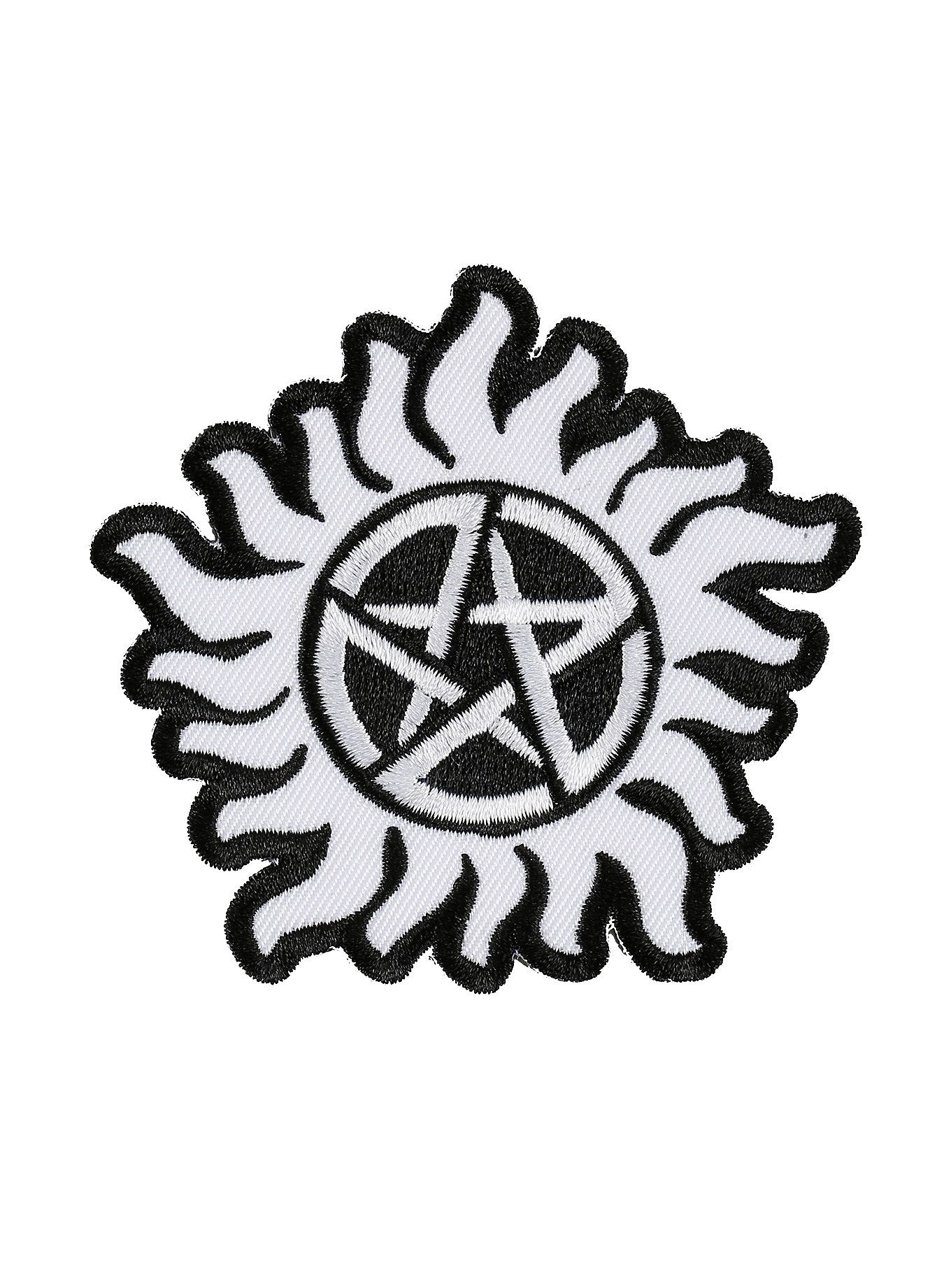 Supernatural Anti Possession Symbol Iron On Patch Patches