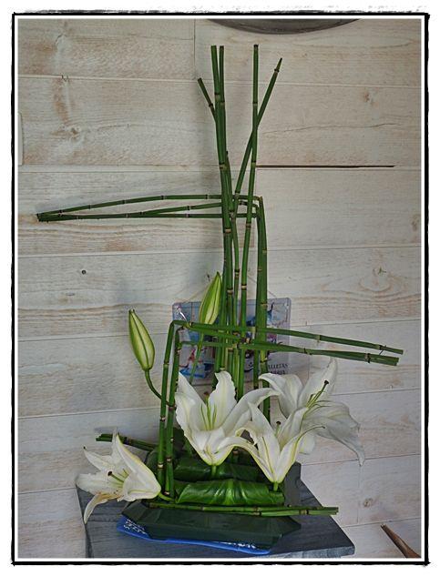 composition moderne zen blog la guillaumette art floral pinte. Black Bedroom Furniture Sets. Home Design Ideas