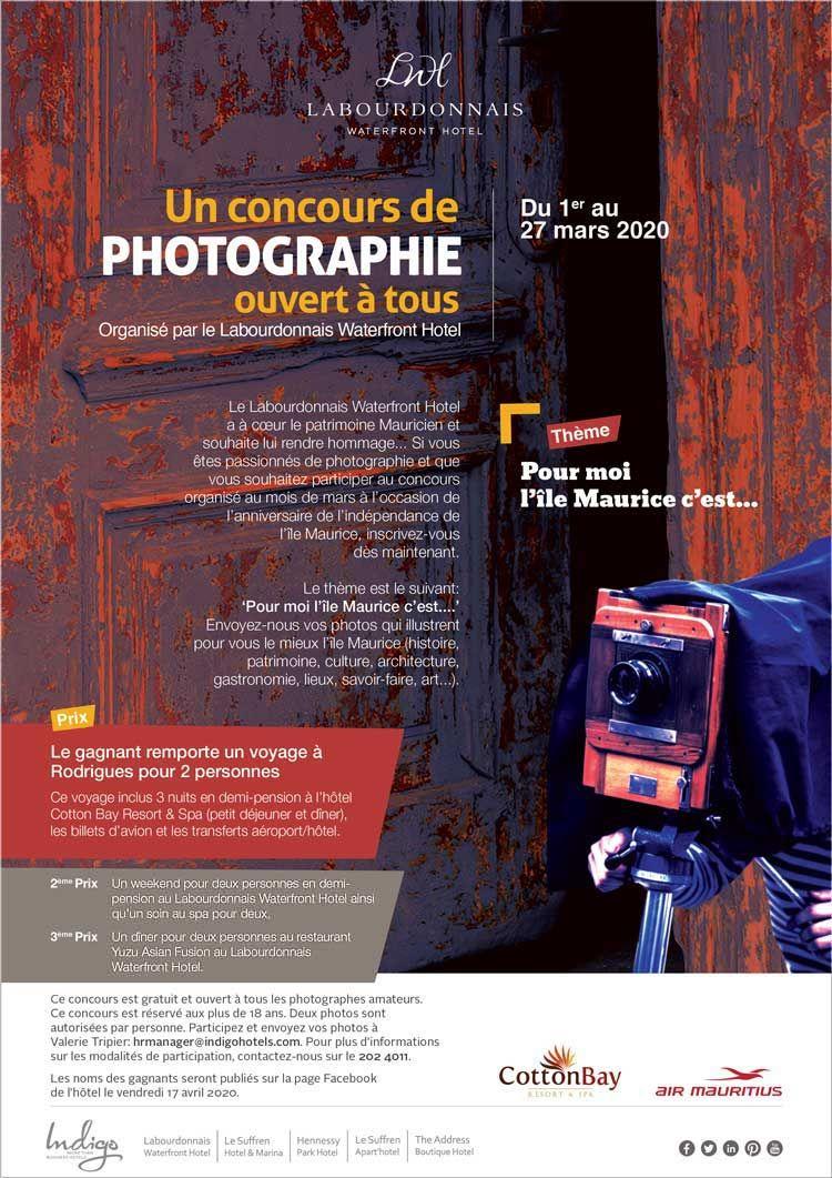 Labourdonnais Waterfront Hotel Concours De Photographie Ouvert A