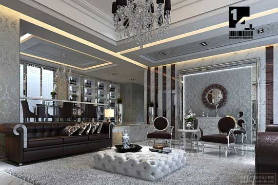 Elegant Art Deco Living Room Design Ideas