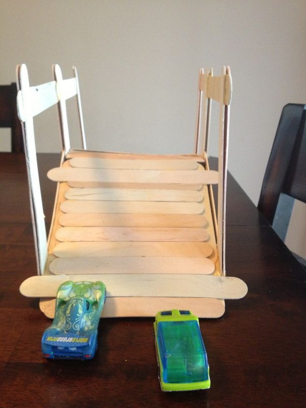 how to make a swing set out of popsicle sticks