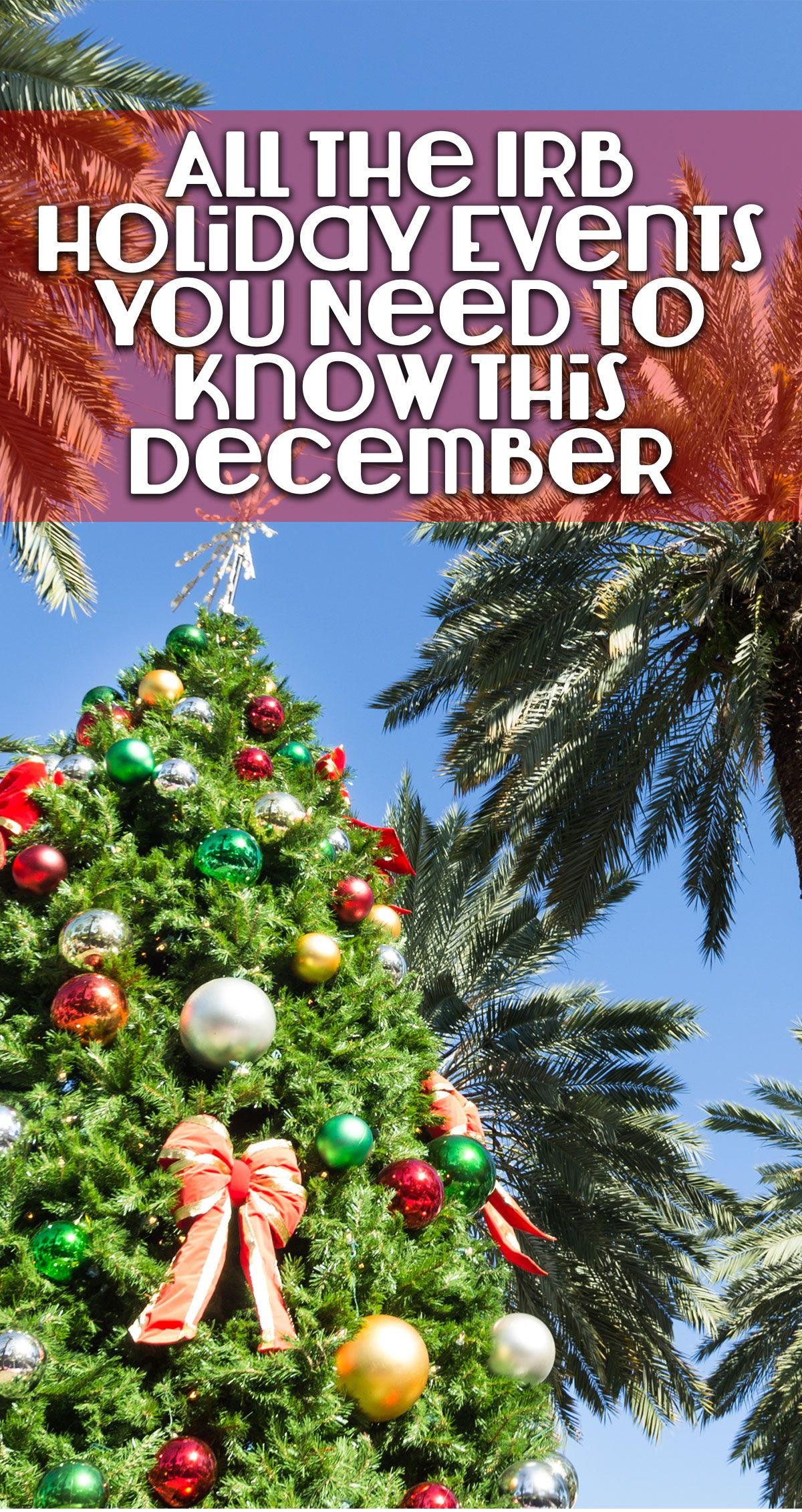 Enjoy The Best Of Both Worlds During Your Gulfcoast Of Florida Beachvacation With A Coastal Christmas Celebrati Christmas Travel Holidays And Events Holiday