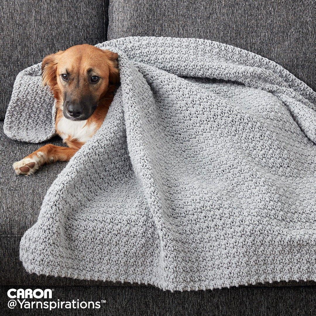 Crochet Snuggle Pet Blanket | Crochet afghans | Pinterest