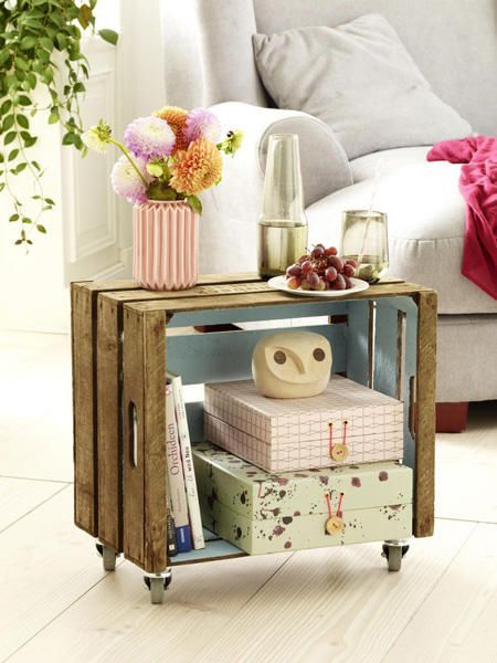 2 diy ideen upcycling mit obstkisten obstkisten upcycling und m bel. Black Bedroom Furniture Sets. Home Design Ideas