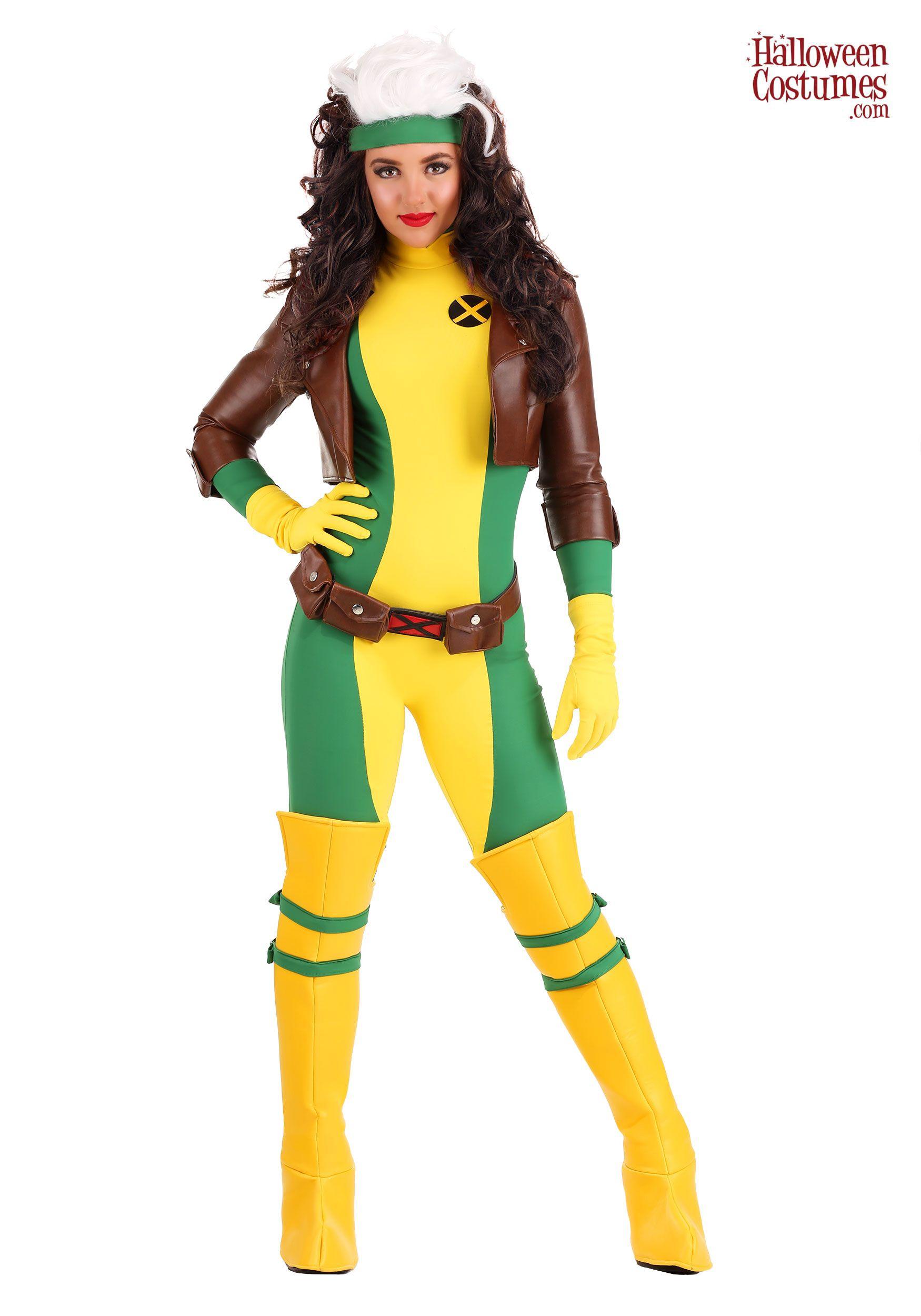 XMen Women's Rogue Premium Costume Halloween costumes