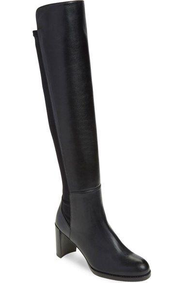 STUART WEITZMAN 'Soho' Tall Elastic Back Boot (Women) (Nordstrom Exclusive). #stuartweitzman #shoes #boots