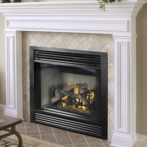 Vantage hearth versafire direct vent gas fireplace 42 for Vantage hearth