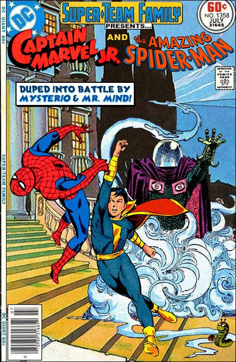 Super Team Family The Lost Issues Captain Marvel Jr And Spider