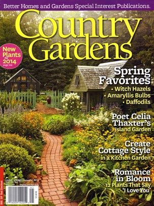 Country Gardens Cover For 1 1 2014 Country Gardening Gardening