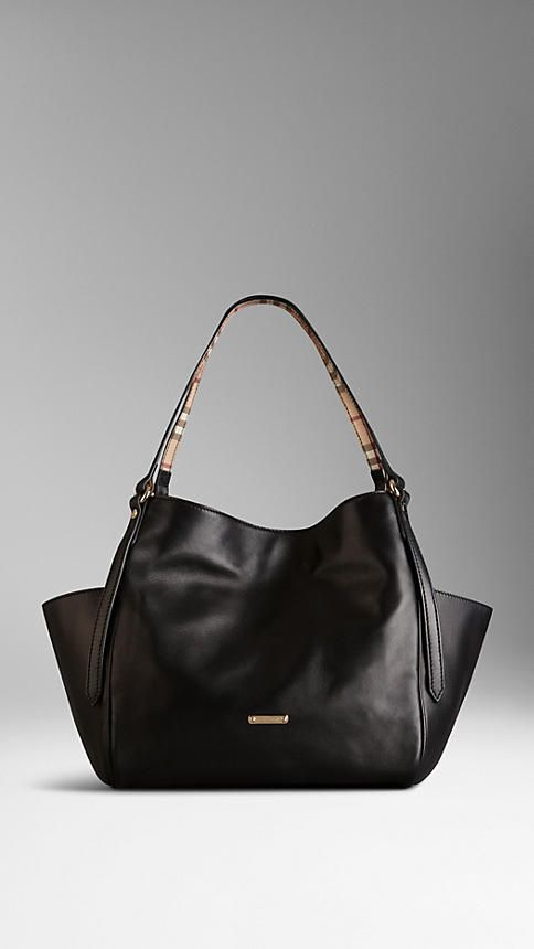 Petit sac tote en cuir nappa | Burberry