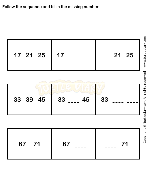 Number Sequence Worksheet 6 Math Worksheets Grade 1 Worksheets Math Worksheets 1st Grade Math Worksheets Kindergarten Math Worksheets