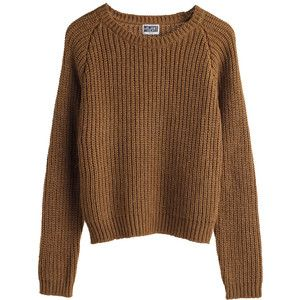 brown sweater-yah I like pretty plain clothing. | My Style ...