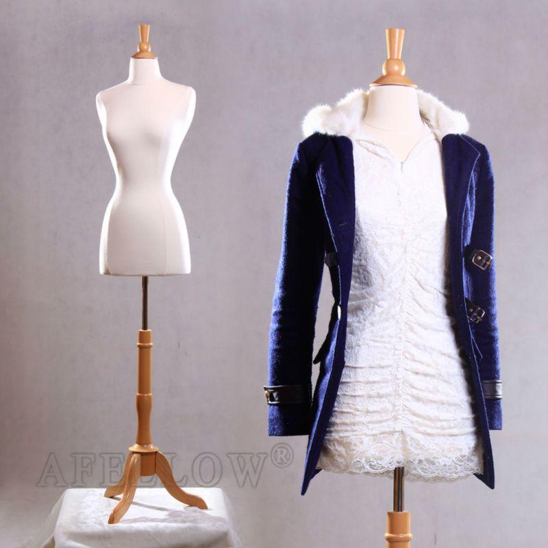 Afellow maniquí femenino maniqui de alta calidad superior- cuerpo de tela ajustable decorativos formas de vestir-Maniquíes-Identificación de...
