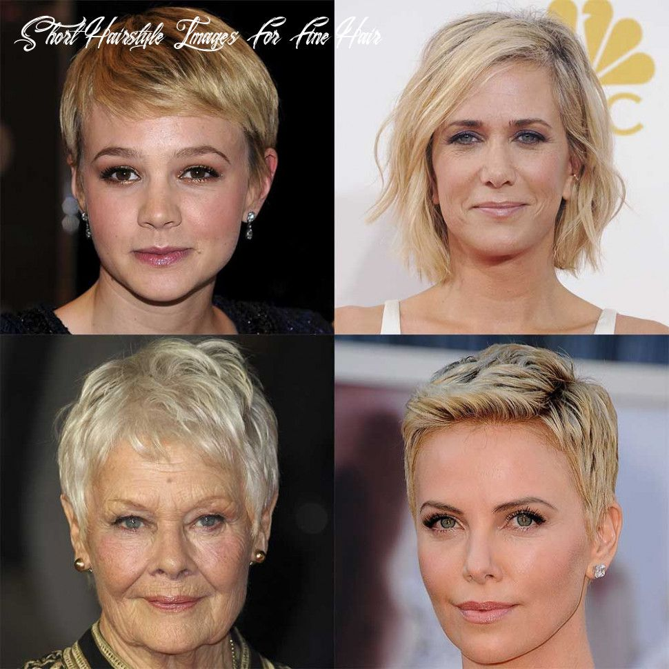10 Short Hairstyle Images For Fine Hair