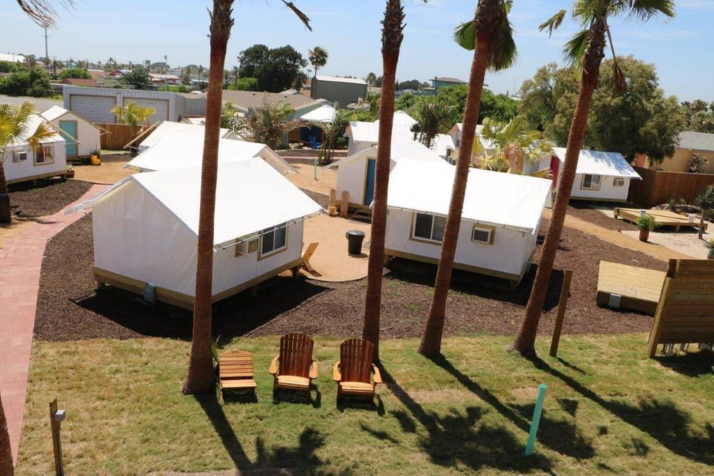 Camp coyoacan tent bungalow 1 cabins for rent in port