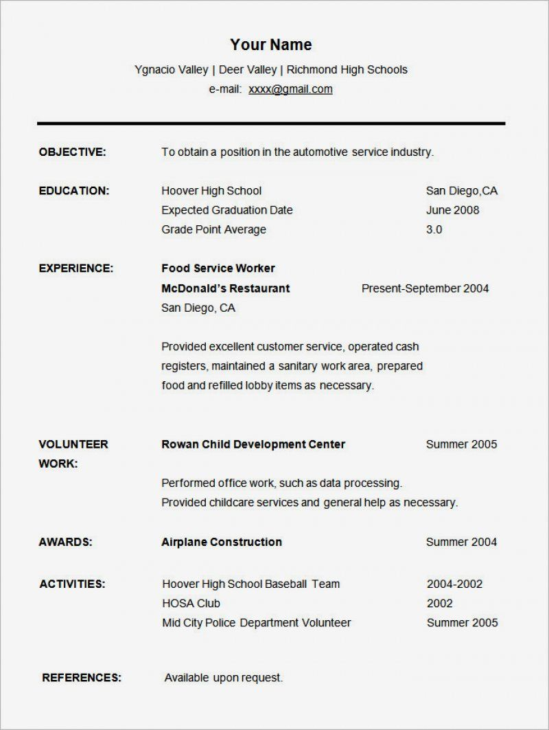 17 student cv template free ideas in 2020 student resume