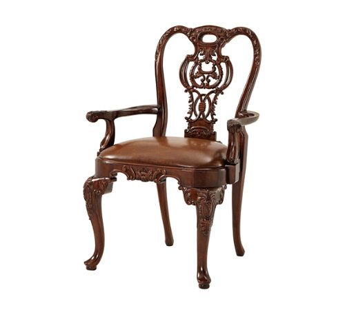 4d2a464d7334 A hand carved open armchair