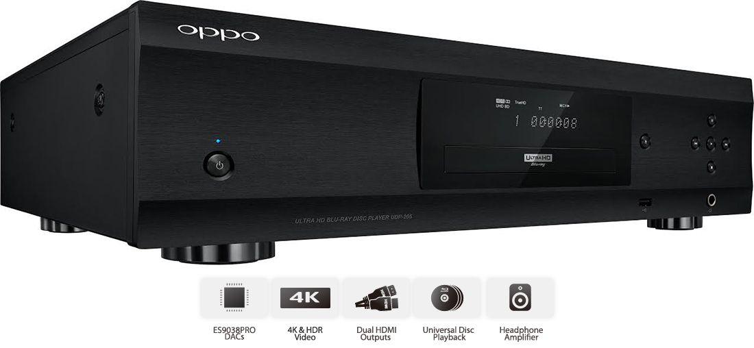 Oppo Digital Releases Udp 205 4k Ultra Hd Hdr Blu Ray Disc Player Blu Ray Discs Digital Ultra Hd