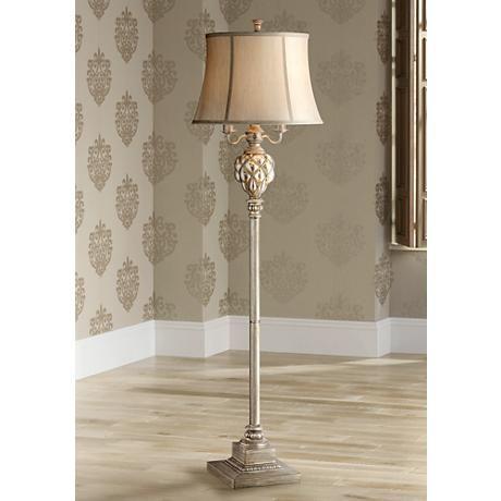 Olde 4 Light Floor Lamp With Led Night Light 3c563 Lamps Plus