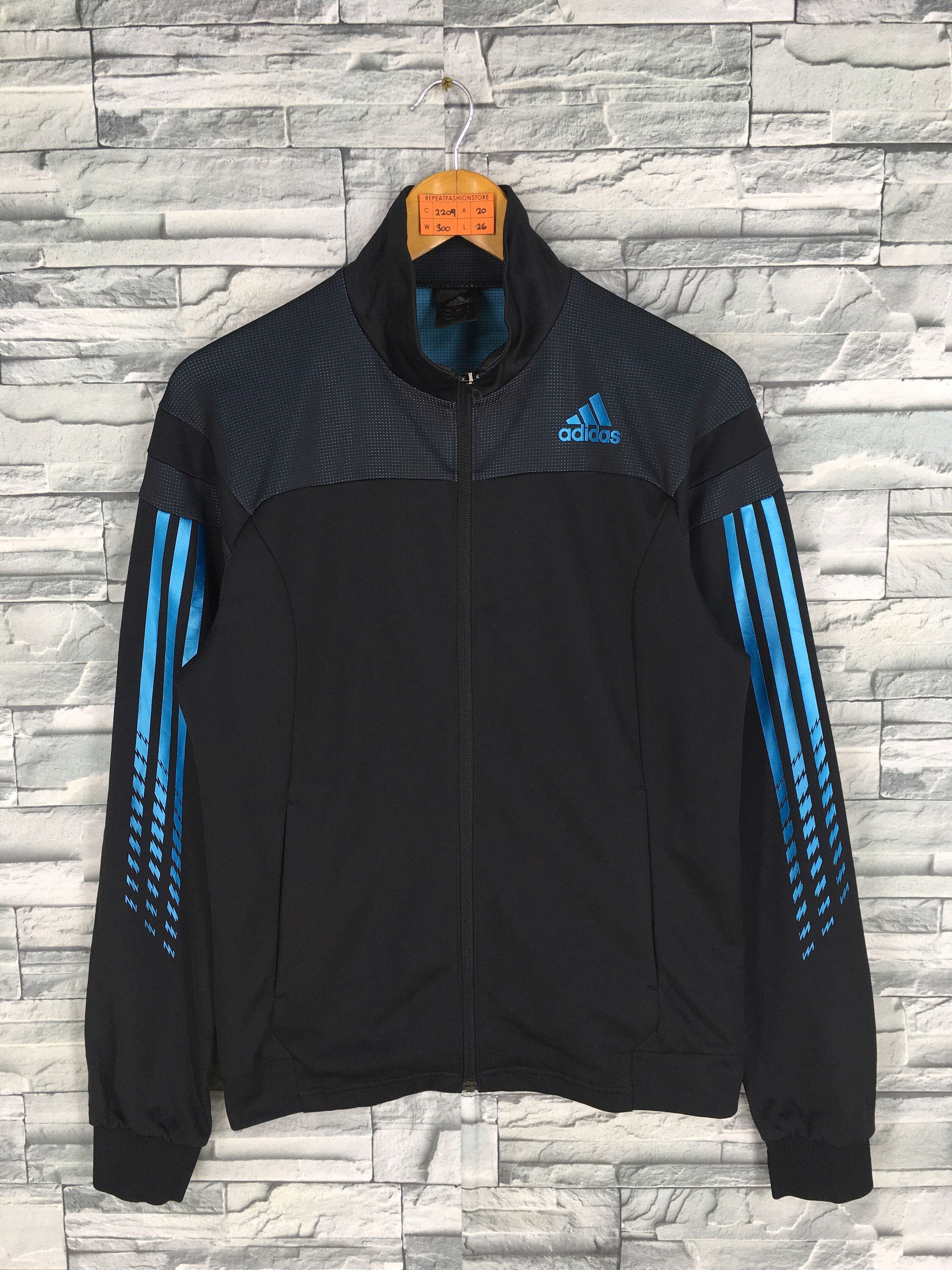 ADIDAS Equipment Track Top Jacket Medium Ladies Vintage 90's