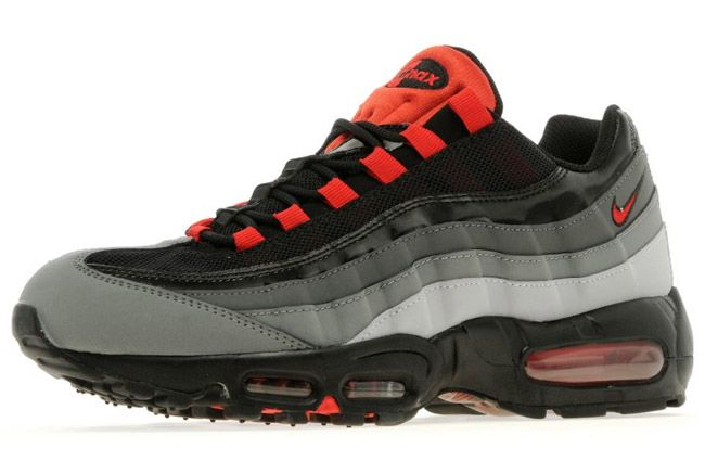 nike air max 95 wolf grey university red