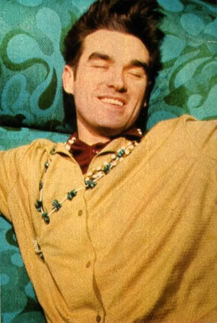 Image result for morrissey happy