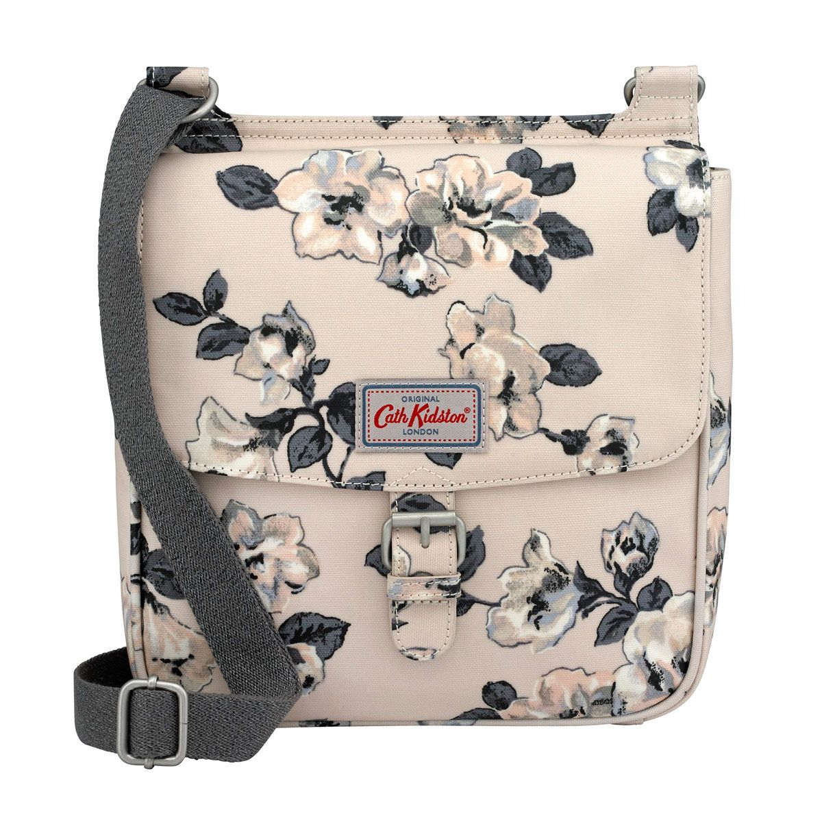 7608eb387332 Crescent Rose Tab Saddle Bag