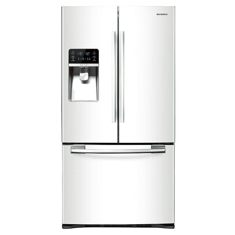 Samsung 29 Cu Ft French Door Refrigerator White Sears Outlet