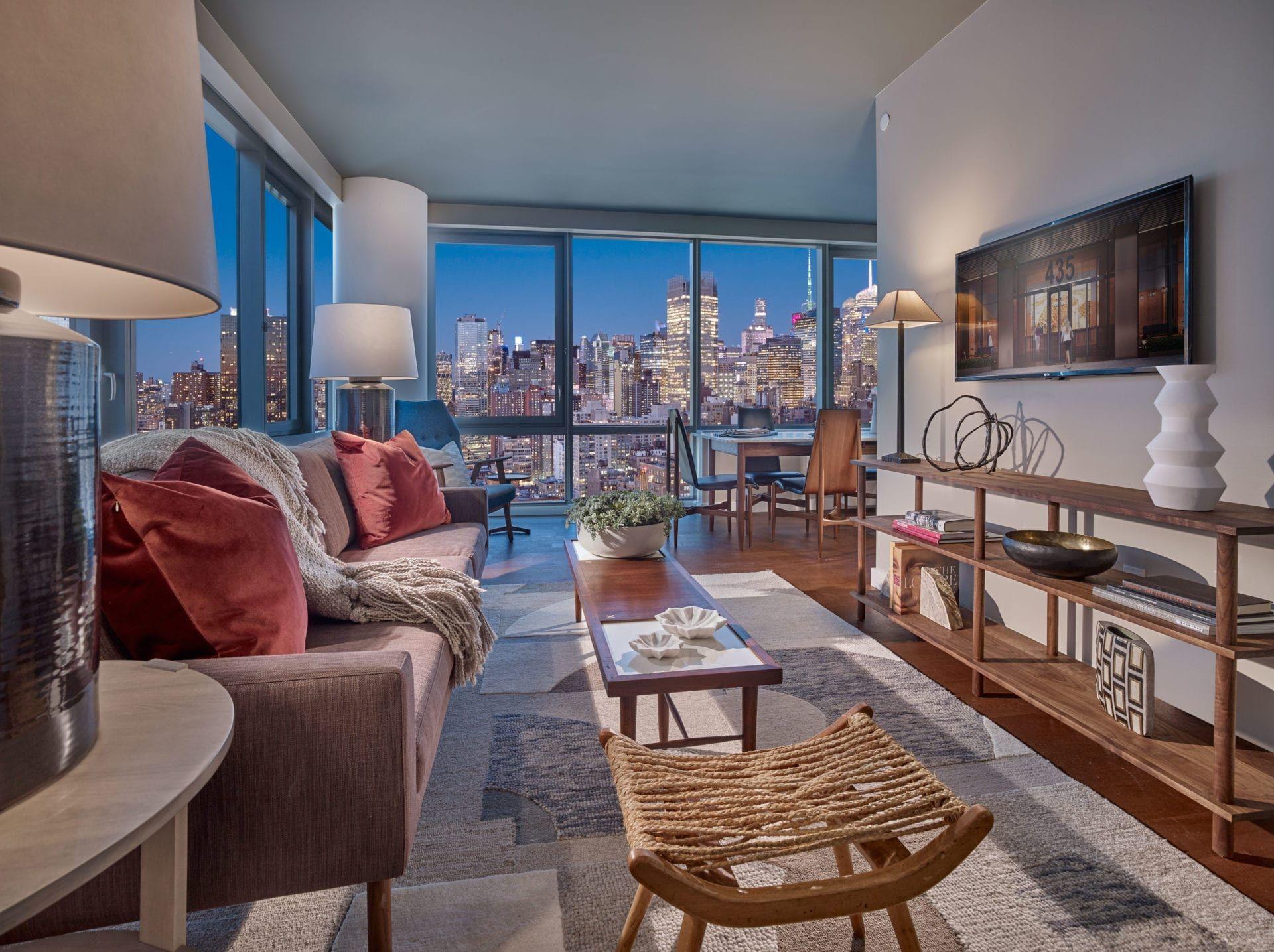 Midtown Manhattan Luxury Apartments For Rent The Eugene Nyc Apartment Luxury New York City Apartment New York Apartments
