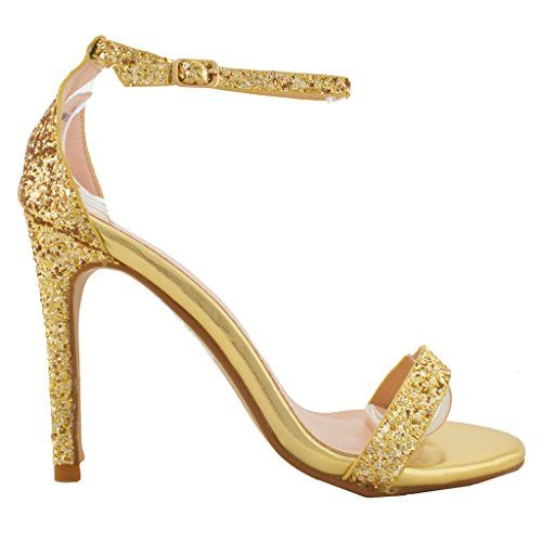 Women's Fashion Ankle Strap Cut Out Sandals...High Heel Shoes... NEW Womens Fashion Ankle Strap Cut Out Sandals Pump Stiletto High Heel ShoesMaterial: Syntheticmanmade solePlatform Height:0.5″ (Approximately)Heel Height: 4.5″ (Approximately)Adjustable Buckle Straps  ...http://bit.ly/2meJGig