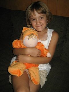 SweetPea Doll......my daughter just got this doll.  Is so cuddly and feels amazing to hold.