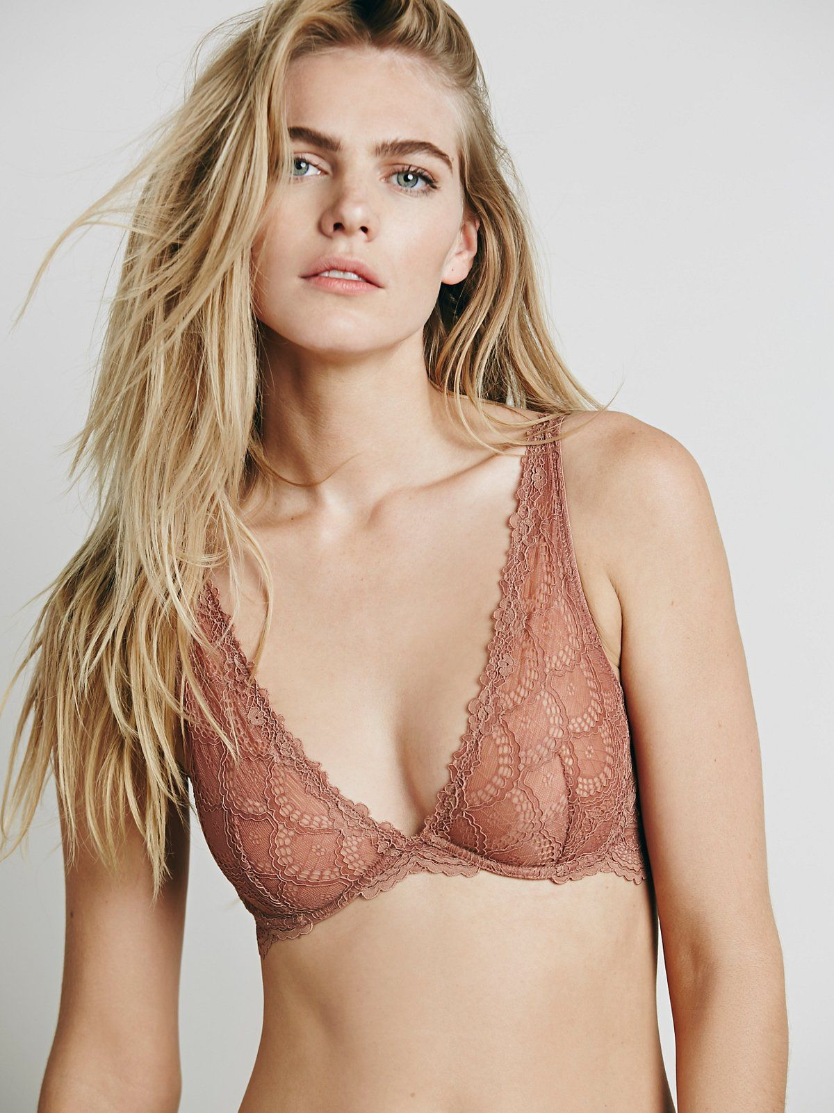 90f5ab9b03d02 Lace Plunge Underwire in 2018