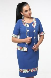 e730726a7 Платья для полных: трикотажные платья для полных женщин купить в  интернет-магазине белорусского трикотажа