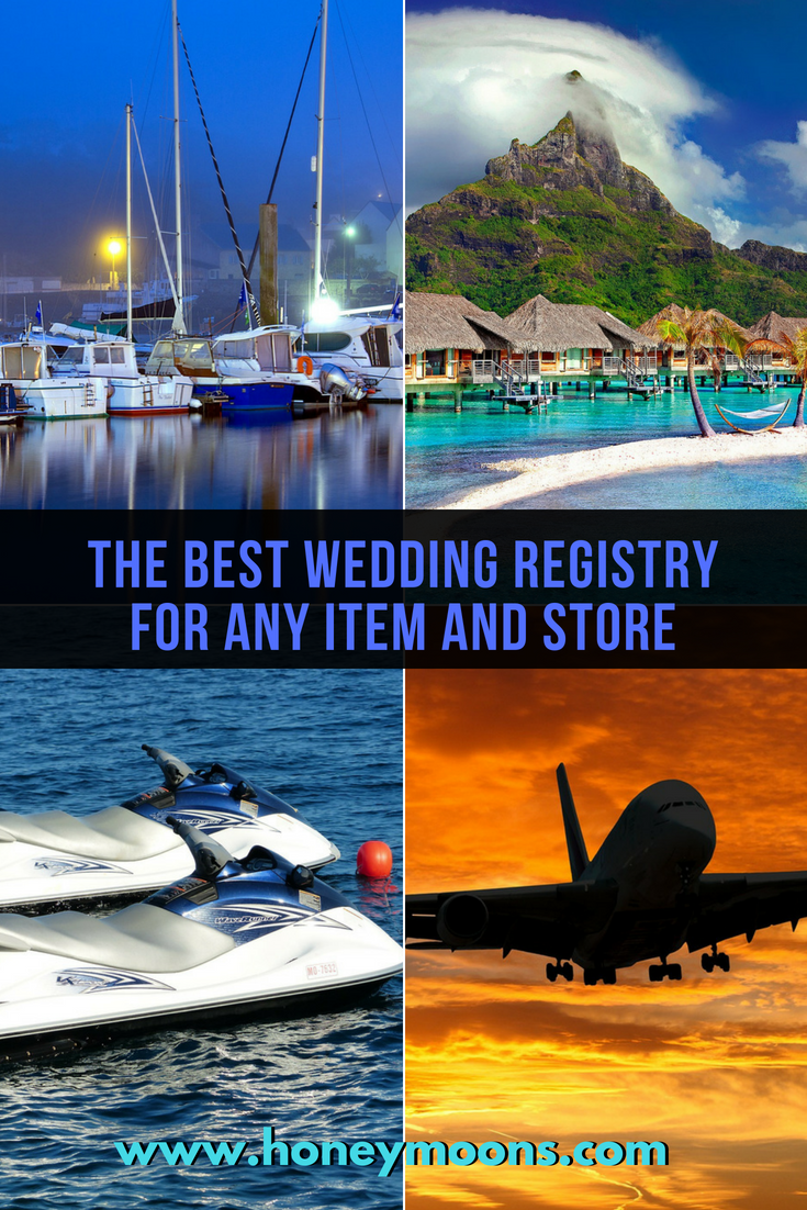 Want to know the best wedding registry site for an item or store