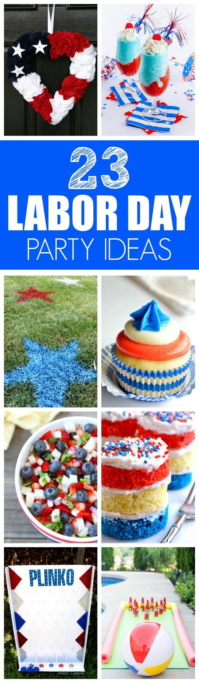 23 perfect labor day party ideas | pinterest | labour and summer parties