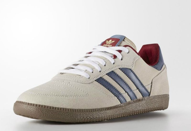 Adidas Copa Skate Shoes - White / Fade Ink / Collegiate Burgundy | Shoes |  Football