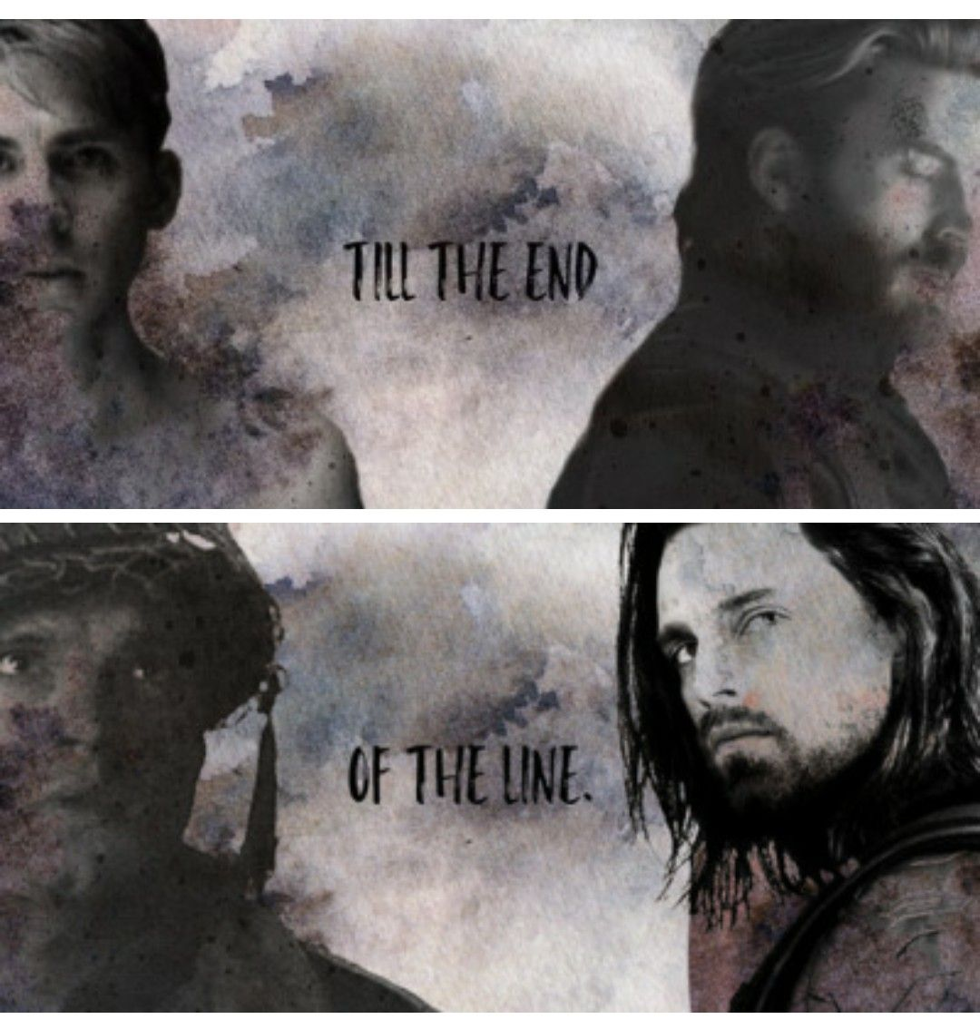 Bucky & Steve + I'm With You Till The End Of The Line