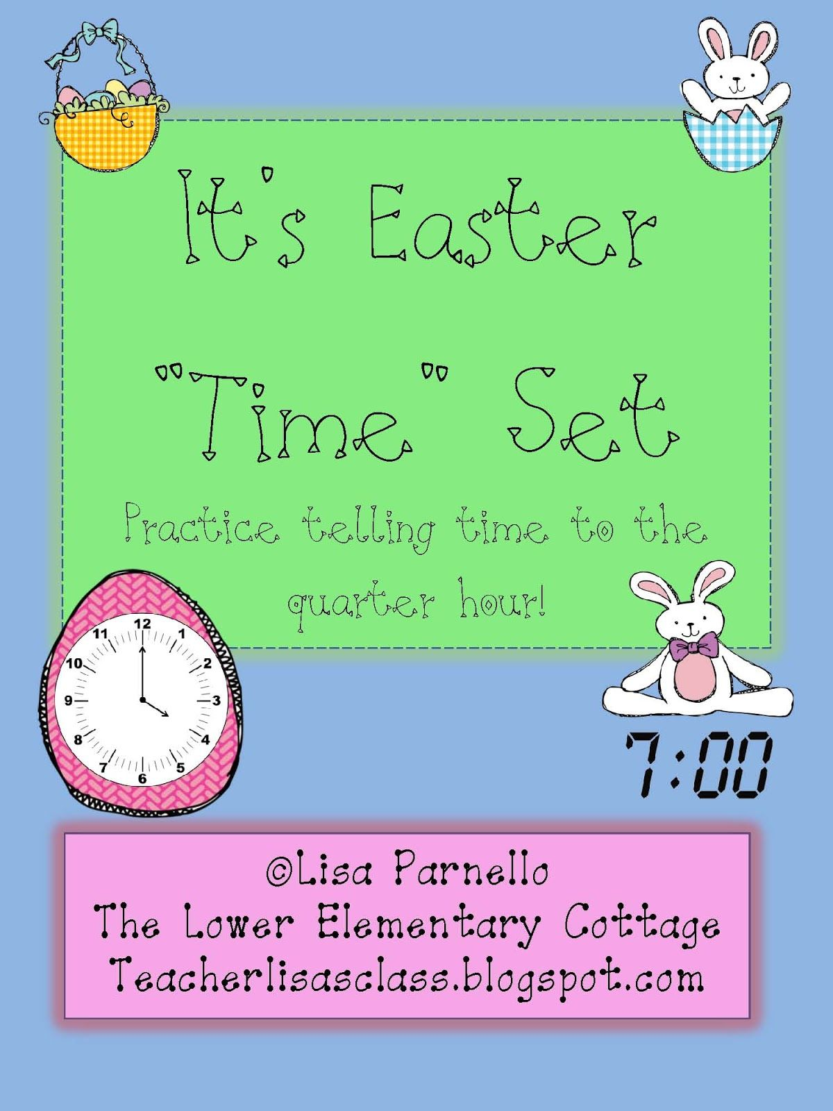 Easter Time Complete Set Is Ready Creating Clipart