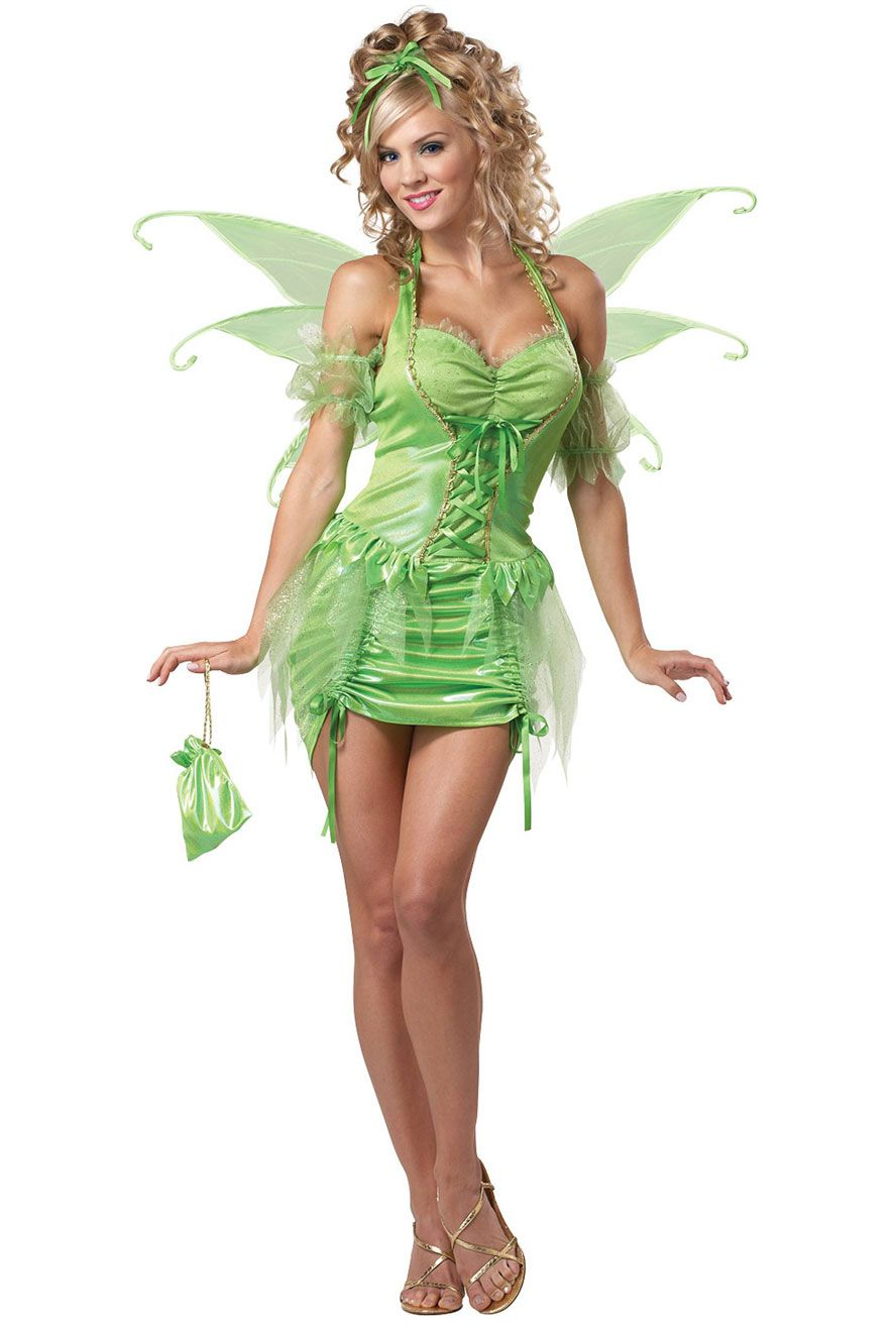 Sexy tinkerbell costumes halloween