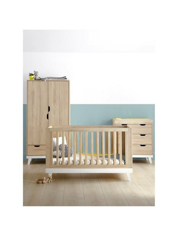 29e243d7d23ac Upgrade their room with the Mamas & Papas Lawson Cot Bed, Dresser Changer  and Wardrobe These stunning bedroom items are stylish and built to last, ...