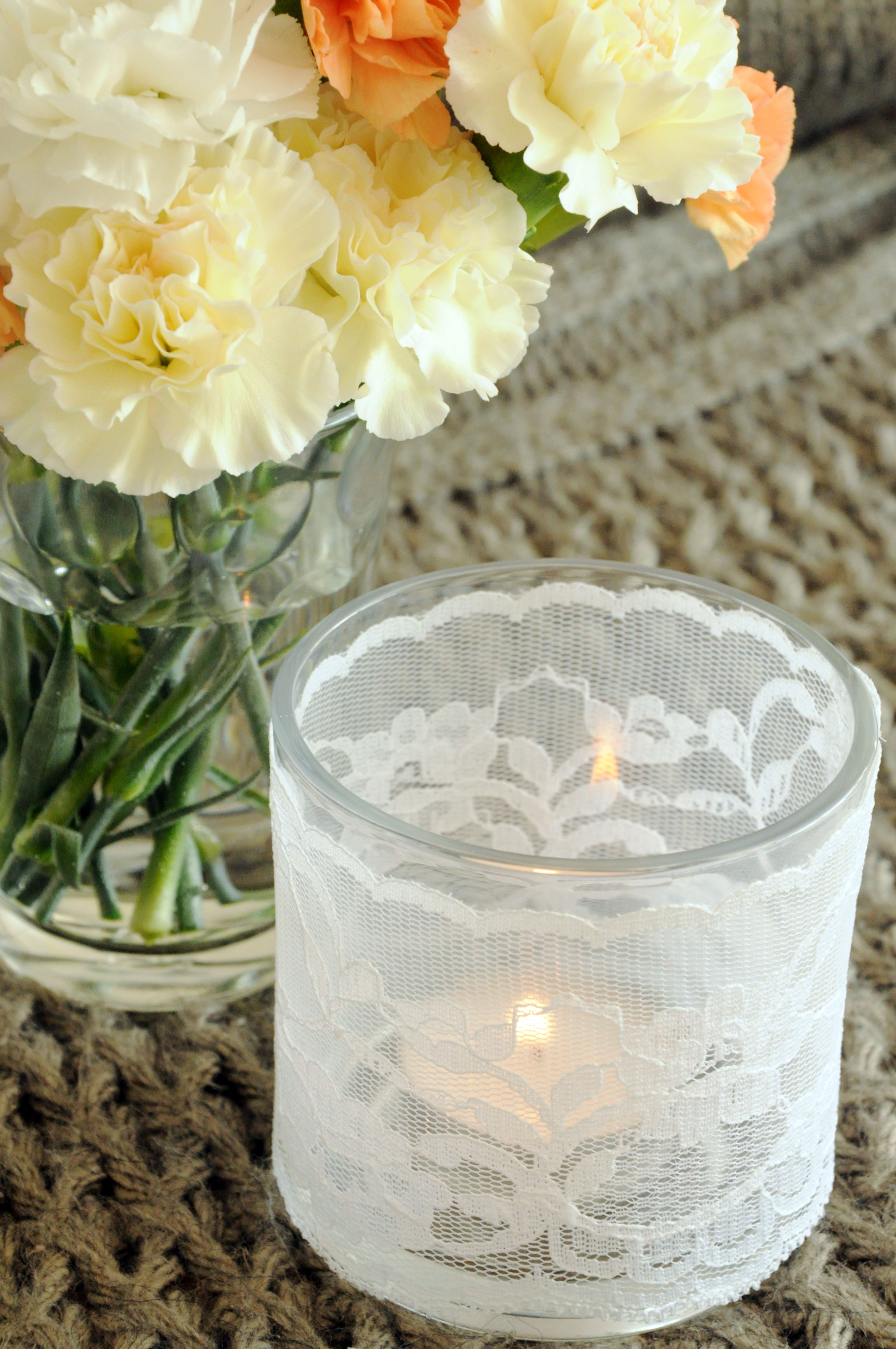 candle and lace