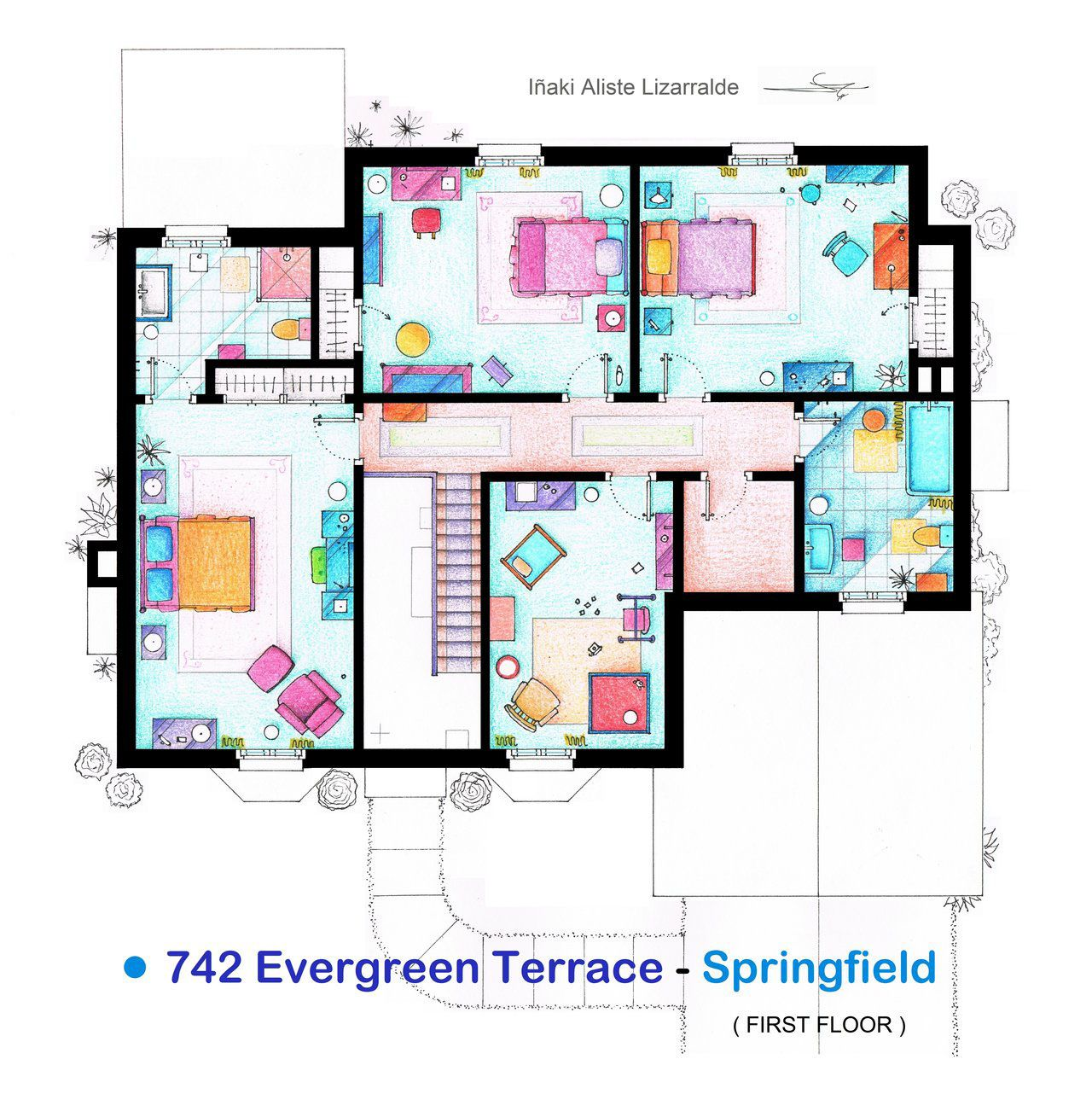 12+ Simpsons house floor plan ideas